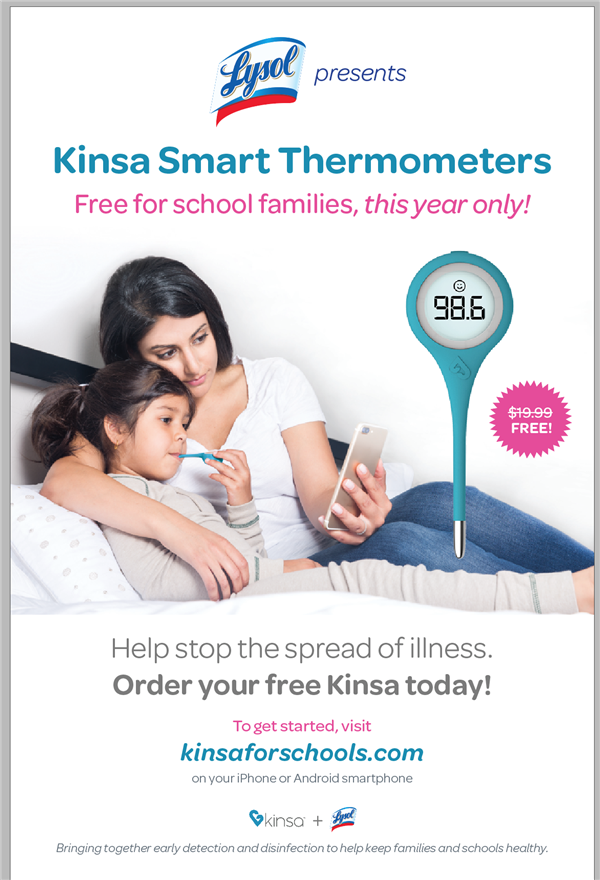 FREE THERMOMETER...Get Yours Today!!