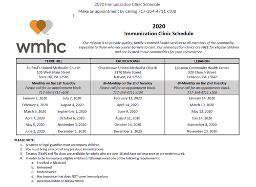 welsh mountain immunization schedule