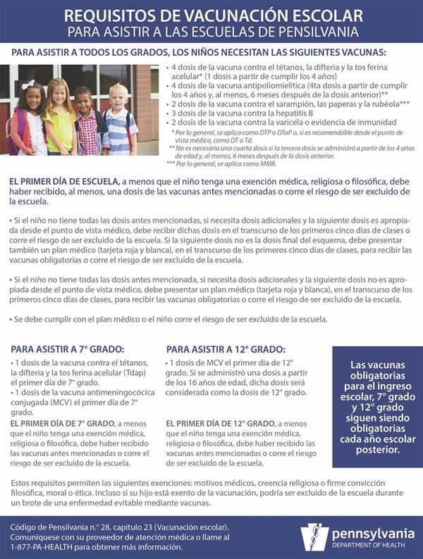 Vaccination Flyer in Spanish