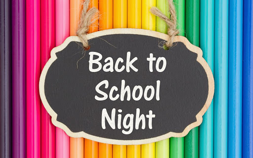 PVIS Virtual Back to School Night
